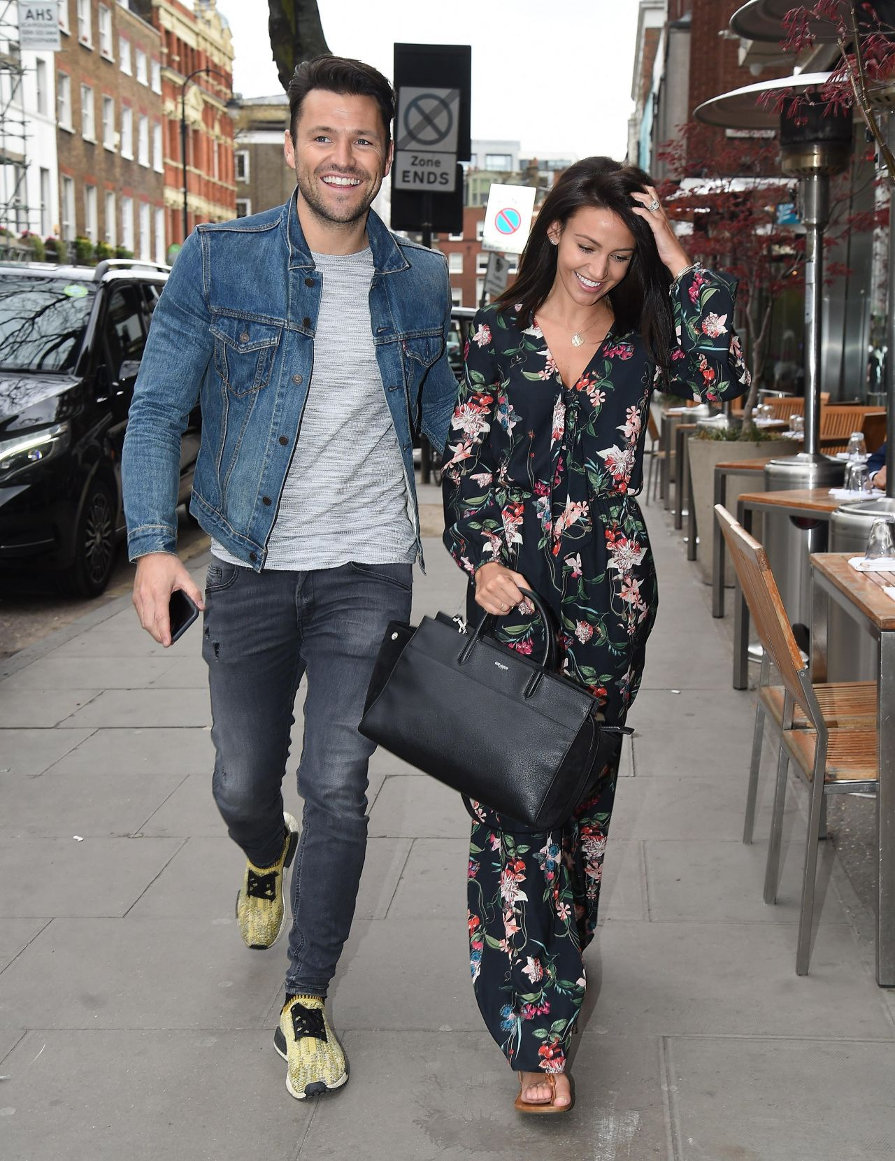 michelle keegan casual style  london 3282017