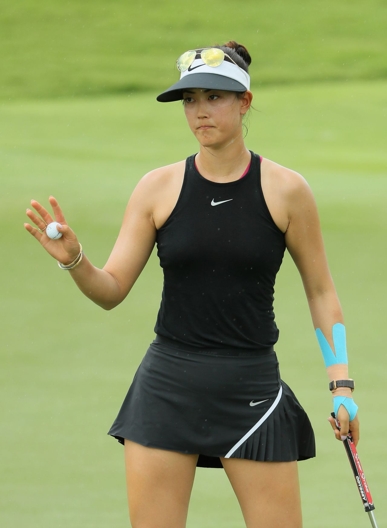 Michelle Wie 2017 Hsbc Women S Champions Round One In