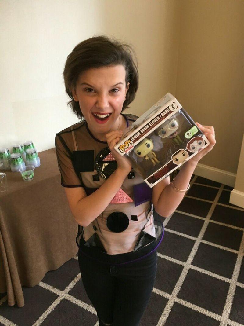 Millie Bobby Brown Celebrity Social Media Pics 3 18 2017
