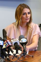 Mischa Barton at Press Conference at the Bloom Law Firm in Woodland Hills, CA 3/15/ 2017