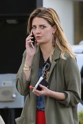 Mischa Barton Street Style - Out in Studio City 3/5/ 2017
