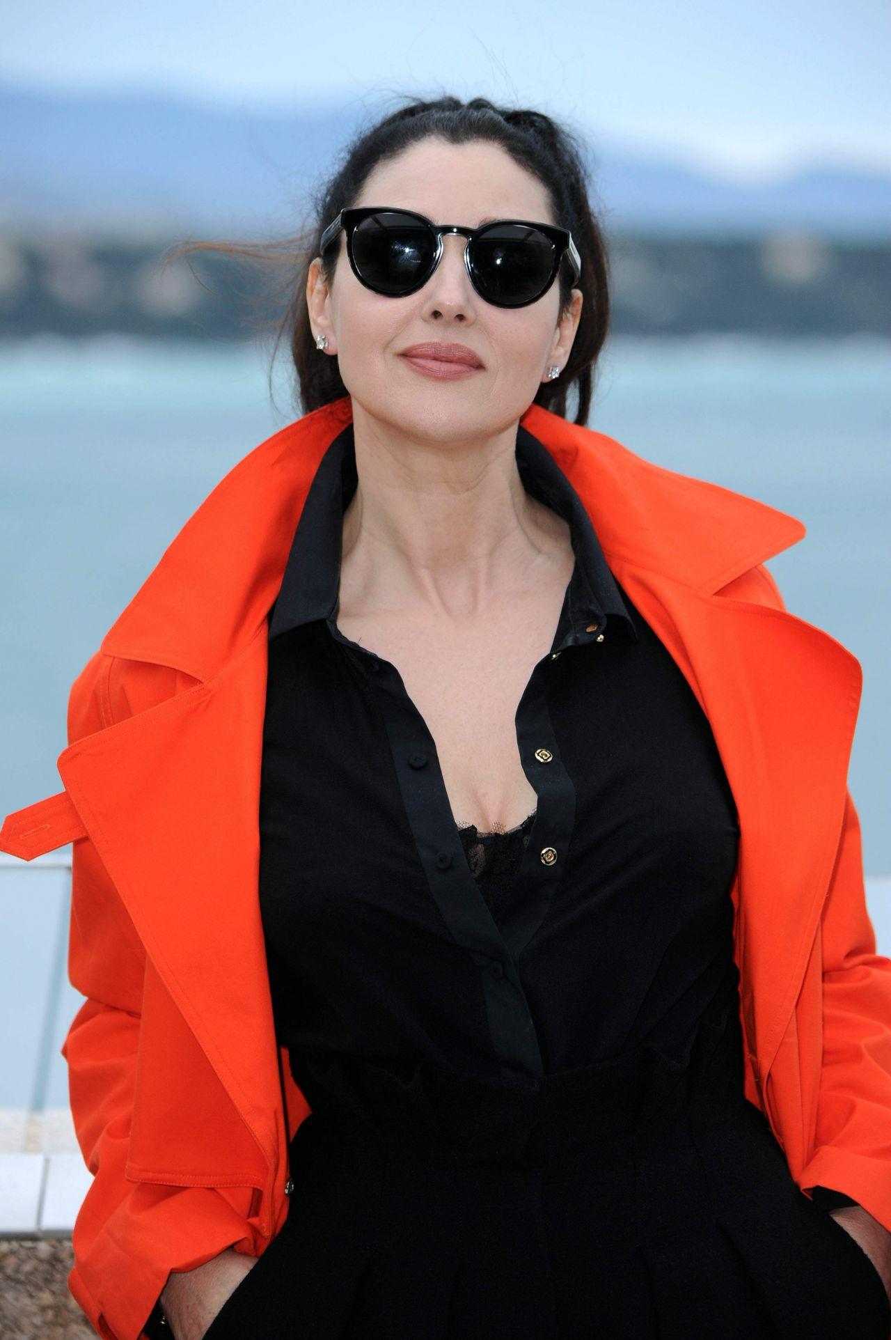 Monica Bellucci at Monte-Carlo Comedy Film Festival ... Monica Bellucci Facebook