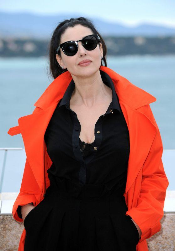 Monica Bellucci at Monte-Carlo Comedy Film Festival Photocall in Monaco 3/5/ 2017