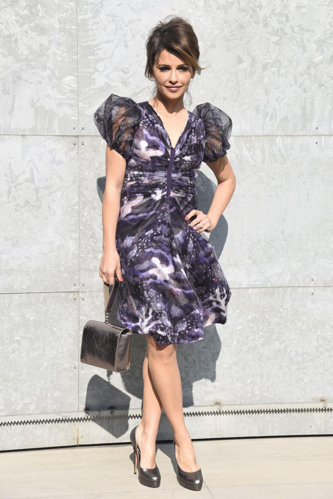 Monica Cruz At Milan Fashion Week Armani Show Arrivals