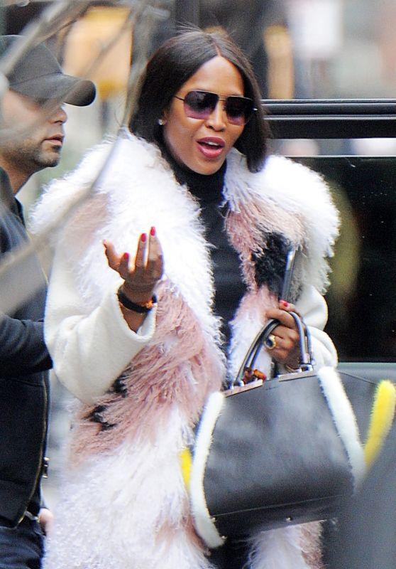 Naomi Campbell Style - Tribecain NY 3/28/2017
