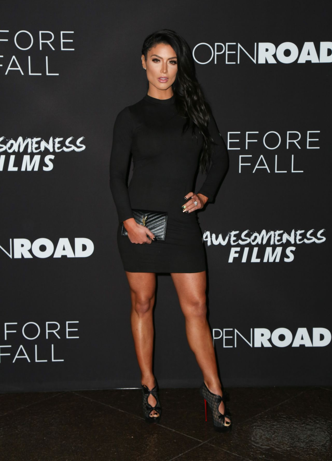 Natalie Marie Coyle at Before I Fall Premiere in Los
