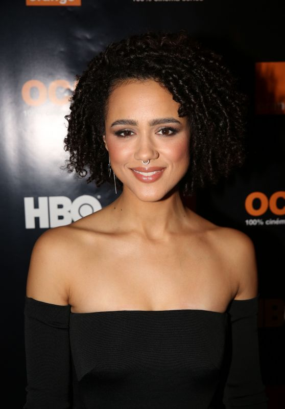 Nathalie Emmanuel - HBO Orange Party held at L