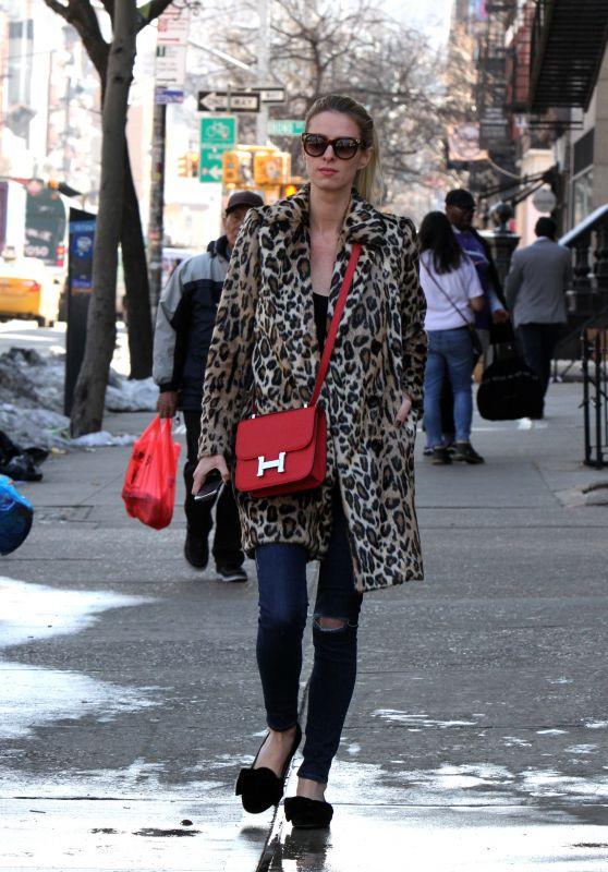 Nicky Hilton Rothschild - Running Errands in Downtown, Manhattan 3/21/ 2017