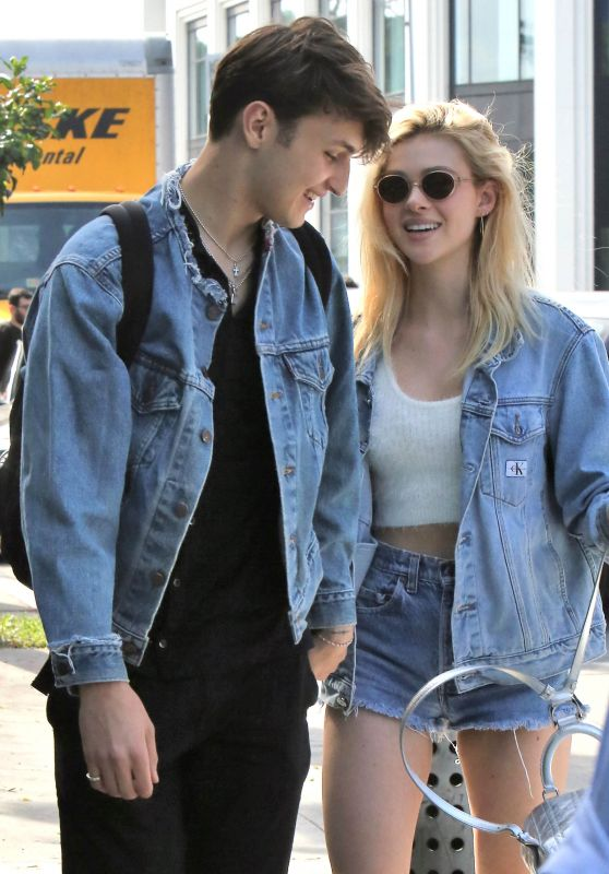 Nicola Peltz and Anwar Hadid Having Lunch in West Hollywood 3/14/ 2017