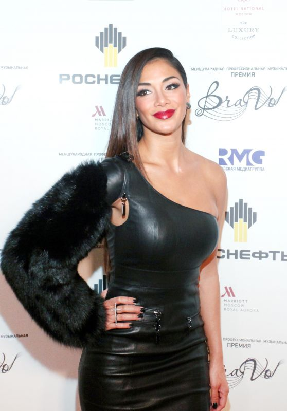 Nicole Scherzinger - BraVo International Music Awards Presentation at the Bolshoi Theatre in Moscow 3/18/ 2017