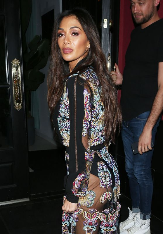 Nicole Scherzinger Night Out in West Hollywood 3/16/ 2017