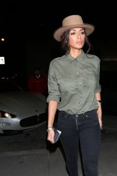 Nicole Scherzinger Night Out Style - West Hollywood 3/10/ 2017