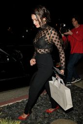 Nina Dobrev - Leaving a Dinner Party For Jimmy Choo in West Hollywood 3/14/ 2017