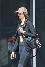 Nina Dobrev Shows Off Her Toned Tum - Out in Hollywood 3/18/ 2017