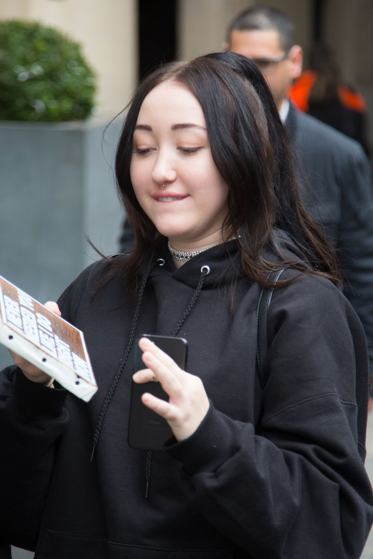 Noah Cyrus - Leaving Her Hotel and Heading to NRJ Radio ...