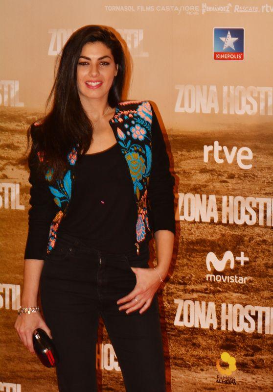 Nya de la Rubia – 'Zona Hostil' Premiere in Madrid 3/9/ 2017