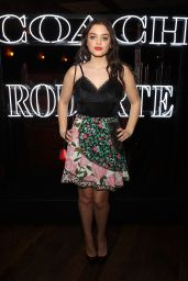 Odeya Rush – Coach & Rodarte Dinner in Los Angeles 3/30/2017