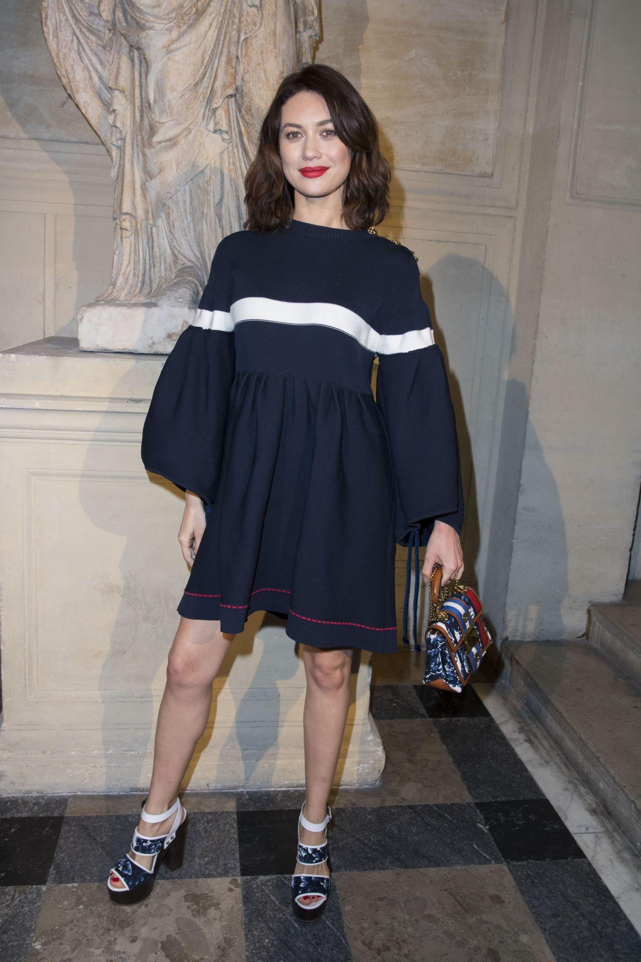 Olga Kurylenko - Sonia Rykiel Fashion Show in Paris 3/4/ 2017