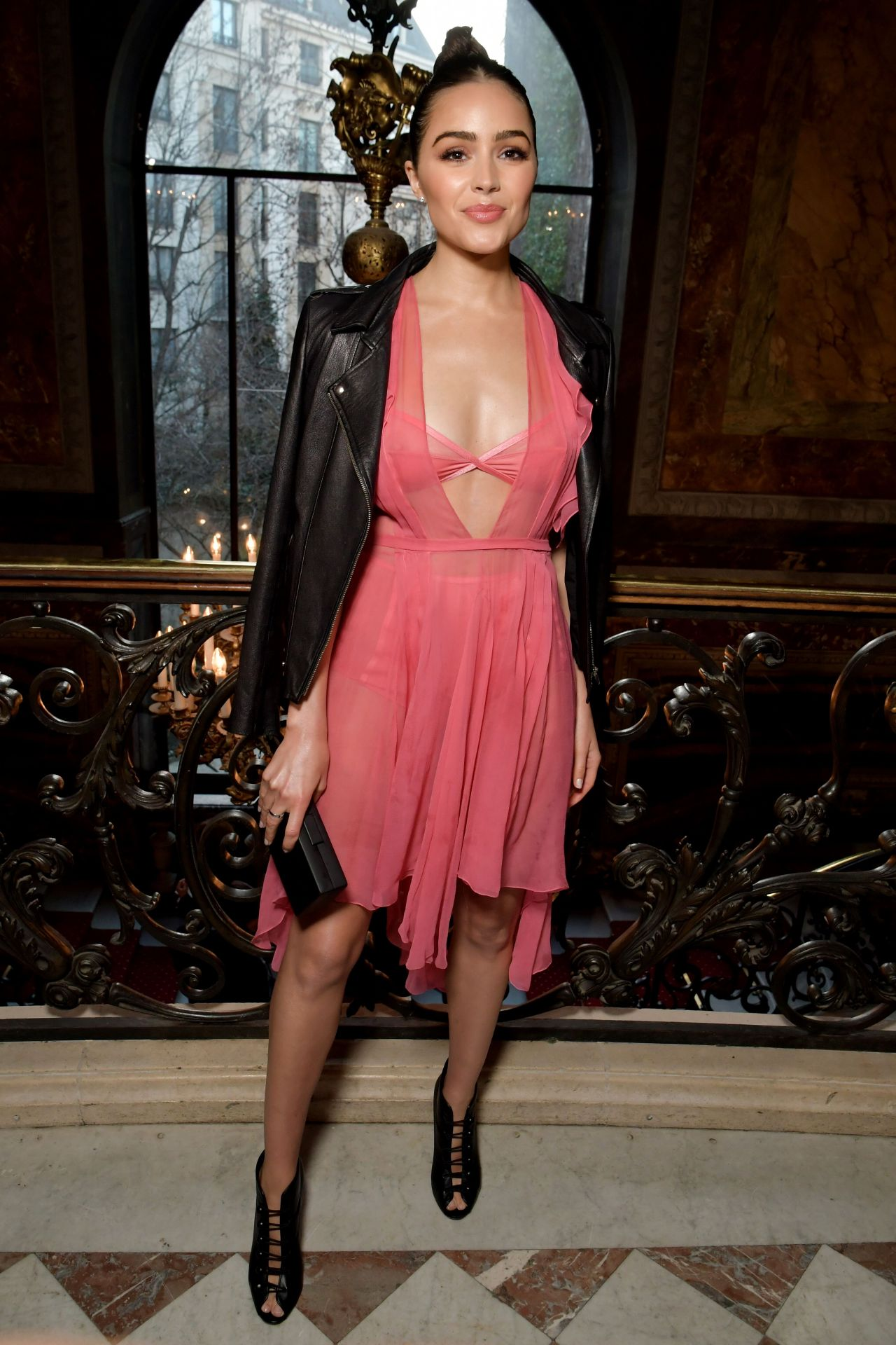 Olivia Culpo John Galliano Show At Paris Fashion Week 3