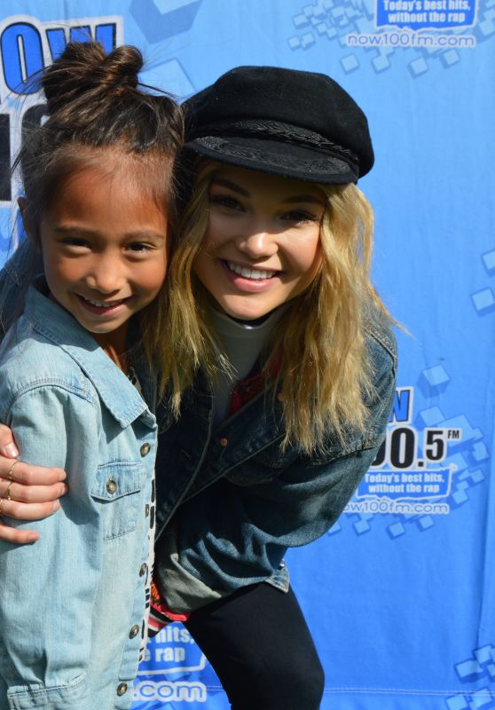 Olivia Holt - Fan Meet & Greet at KIDTOPIA Festival in Sacramento 3/25/2017