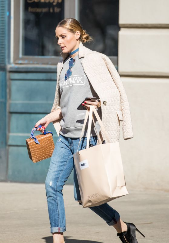 Olivia Palermo - Out in New York 3/9/ 2017