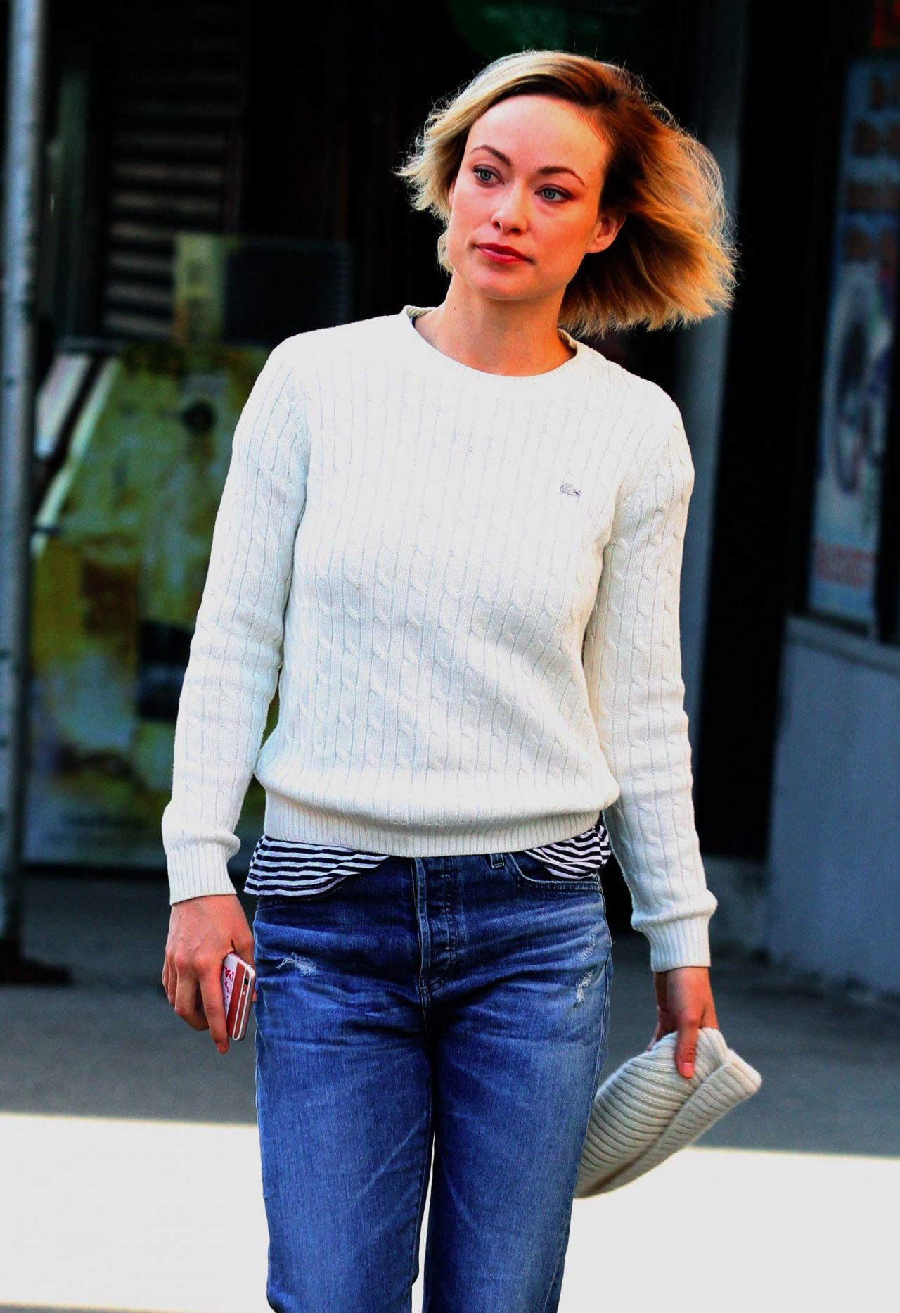 "Olivia Wilde - ""Life Itself"" Set in New York City 3/20/ 2017 Olivia Wilde"