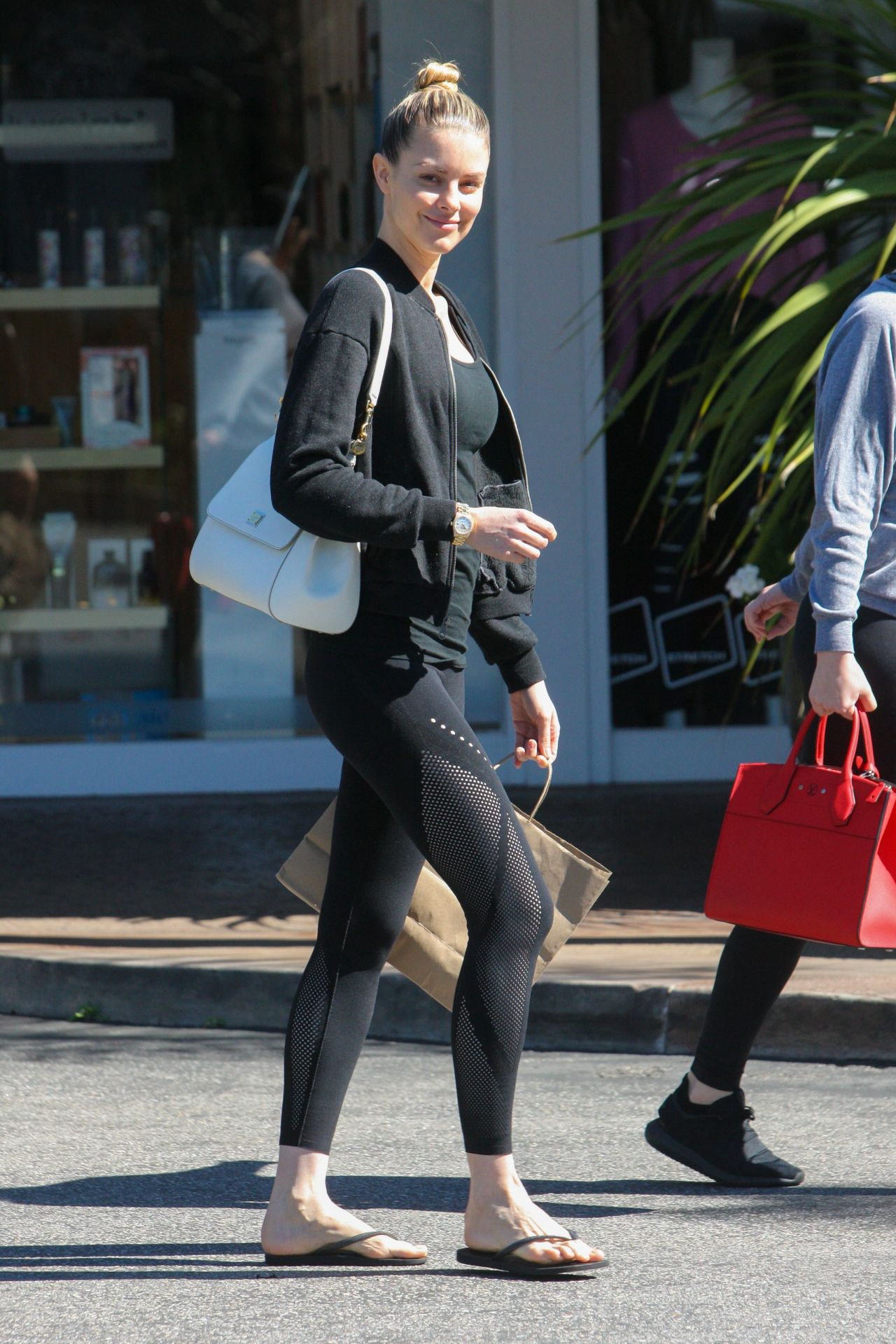 Paige butcher in spandex beverly hills