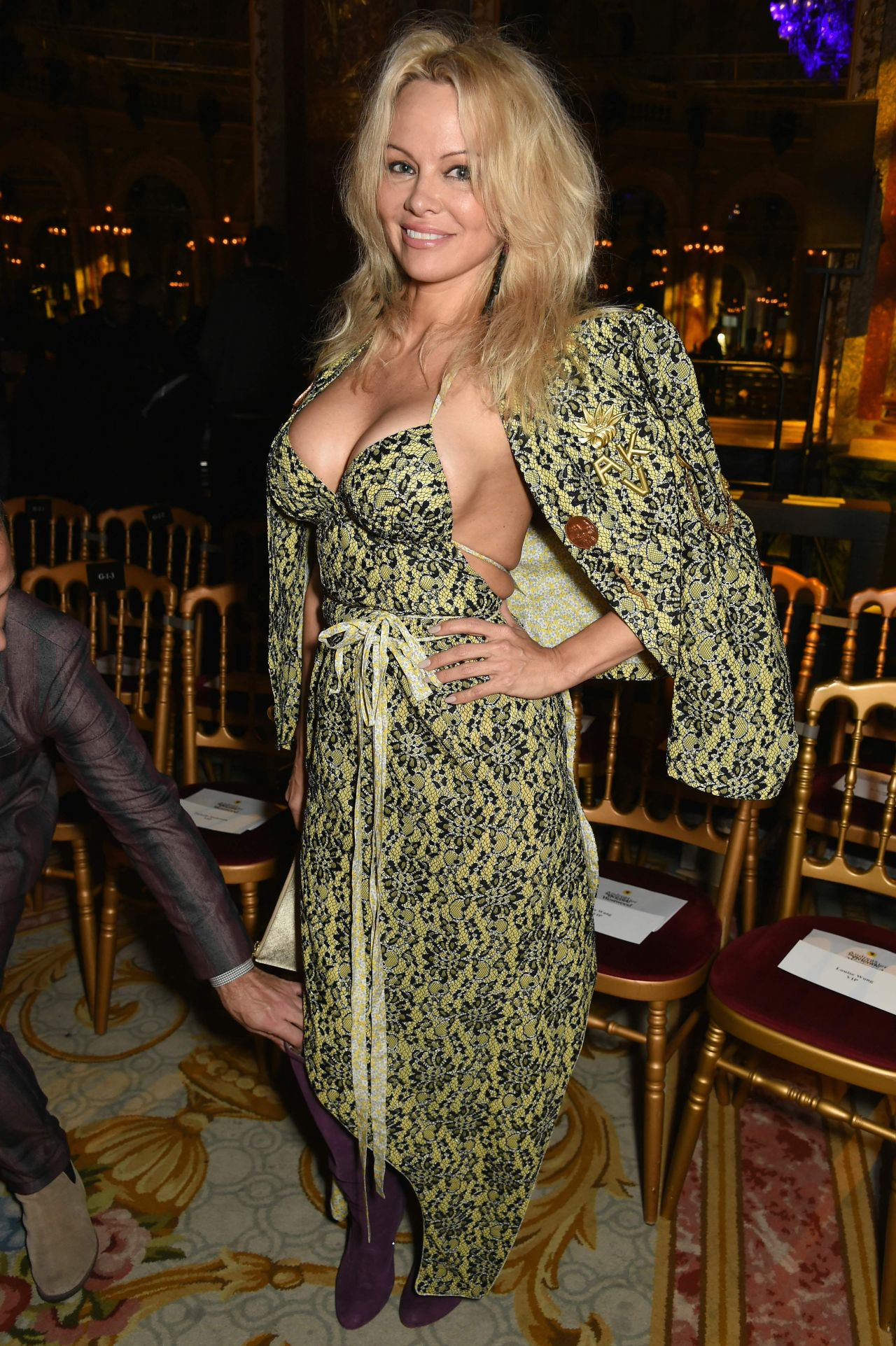 Pamela Anderson At Christian Dior Show In Paris 3 3 2017