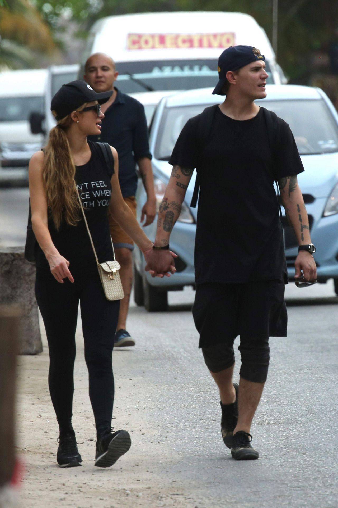 Paris Hilton and Boyfr...