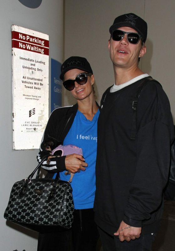 Paris Hilton at Los Angeles International Airport 3/28/2017