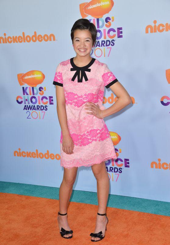 Peyton Elizabeth Lee – Nickelodeon Kids Choice Awards 2017 in Los Angeles