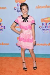 Peyton Elizabeth Lee – Nickelodeon Kids Choice Awards 2017 in Los Angeles