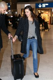 Phoebe Tonkin - Arrives at Paris Charles de Gaulle Airport in Paris 3/5/ 2017