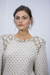 Phoebe Tonkin - Arriving to the Chanel Fashion Show in Paris 3/7/ 2017