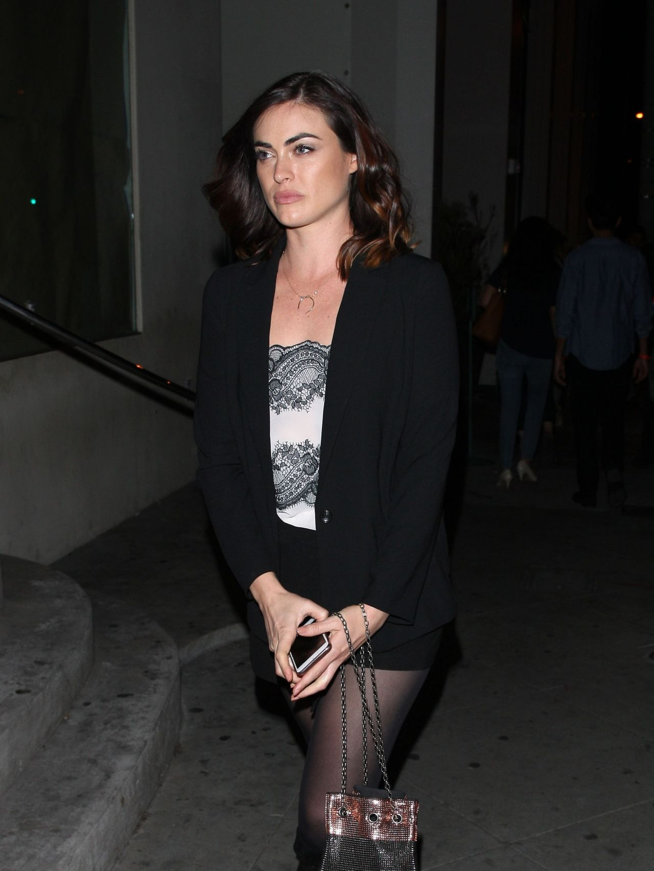 Phoebe Tonkin at Catch LA Restaurant in West Hollywood 3 ...