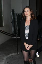 Phoebe Tonkin at Catch LA Restaurant in West Hollywood 3/10/ 2017