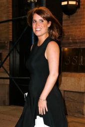Princess Eugenie Night Out Style - New York 3/8/ 2017