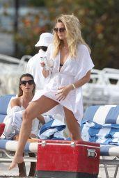 Rachel Hilbert & Devon Windsor in a Bikini at Miami Beach 3/14/ 2017