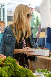 Rachel Zoe - Shopping at Farmers Market in Brentwood 3/12/ 2017