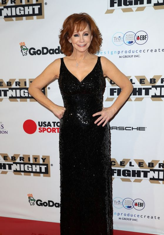 Reba McEntire at Muhammad Ali's Celebrity Fight Night in Arizona 3/18/ 2017