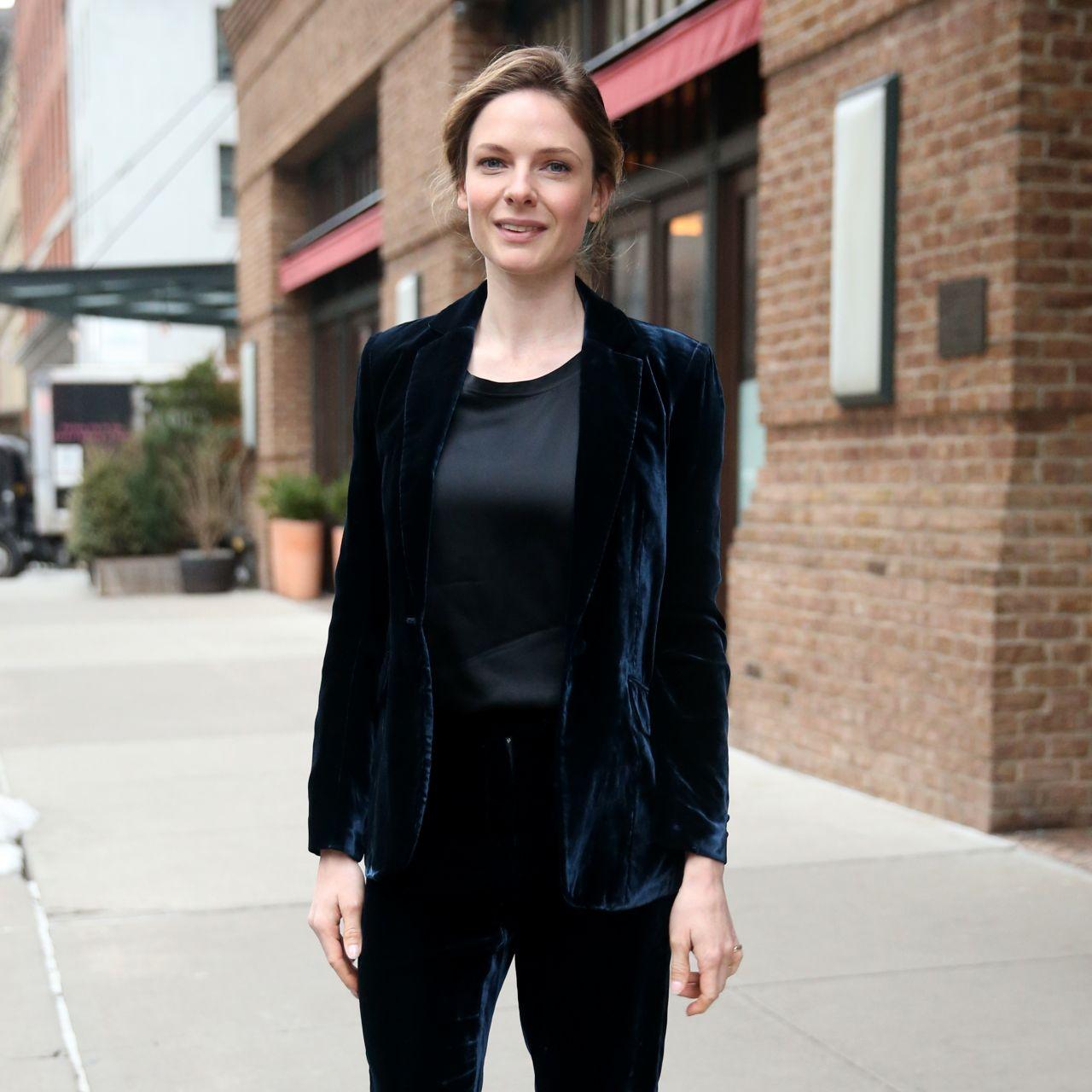 Rebecca Ferguson Out In New York City 3 21 2017