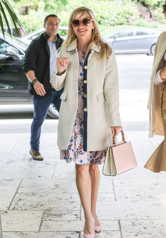 Reese Witherspoon at the Bel Air Hotel in Los Angeles 3/22/ 2017