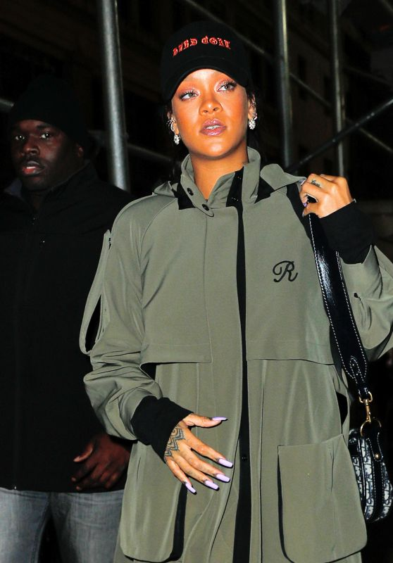 Rihanna - Out and About in NYC 3/20/ 2017