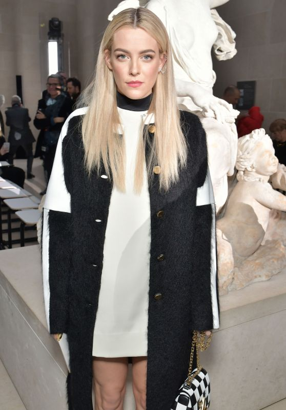 Riley Keough - Louis Vuitton Show at Paris Fashion Week 3/7/ 2017