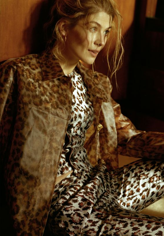 Rosamund Pike - Flaunt Magazine 2017