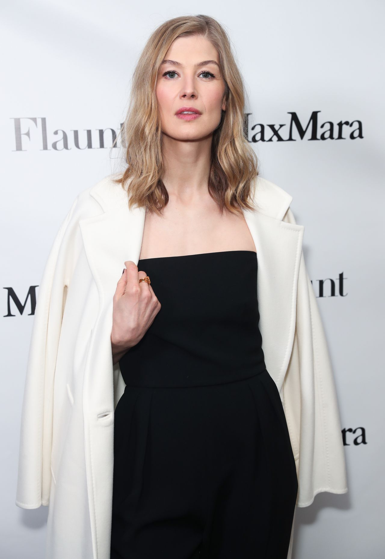 Rosamund Pike - Max Mara x Flaunt Dinner in Los Angeles 3 ...