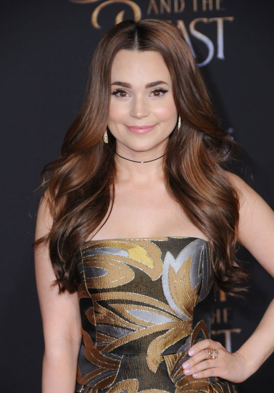 Rosanna Pansino – 'Beauty And The Beast' Movie Premiere in Los Angeles 3/2/ 2017