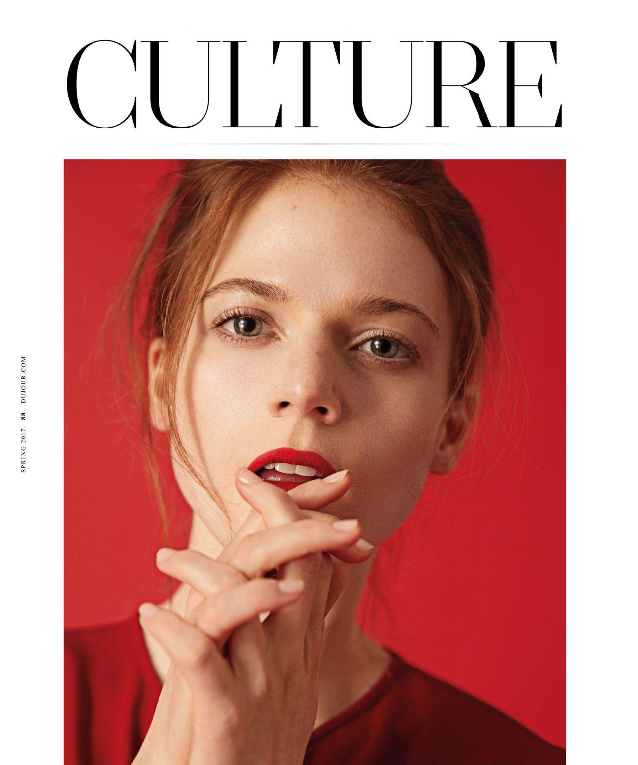 Rose Leslie - DuJour Magazine Spring 2017 Issue
