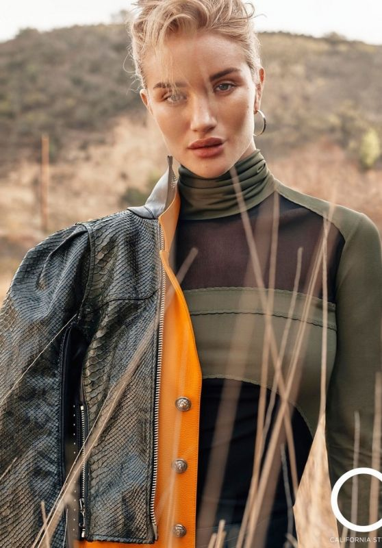 Rosie Huntington-Whiteley - C California Style Magazine March 2017 Issue