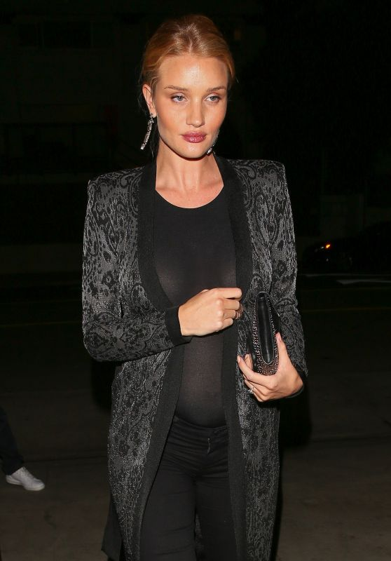 Rosie Huntington-Whiteley Night Out Style - Los Angeles 3/11/ 2017